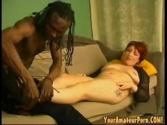 Horny woman fucked by a black guy (part 1)