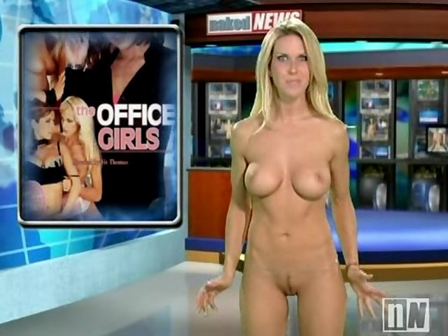 Nude woman news anchors upskirts with you