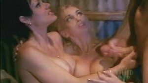 Tit cumshot on two