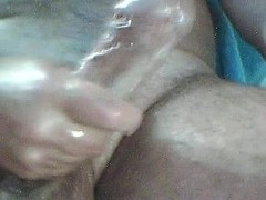 Picture Semen is poured out from member