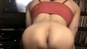 Tranny Julia's Ass Close-Up