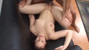 Nice Cumshot after taking on two guys
