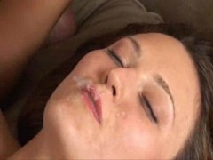 Girl Swallows Creampie
