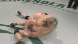 Anne Cruz & Adrianna wrestling naked