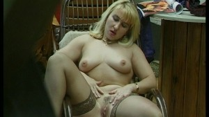 Peeping Tom Finds Hot Blonde MILF