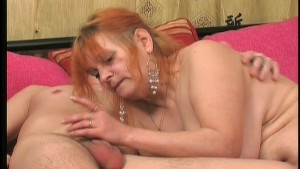 Mature woman seduces young stud 2/3