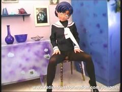 Picture Naked nylon Manga Girl Monika