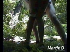 legendary martino fucks gitti in the forest