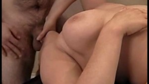 Brunette Goes Ass To Mouth!