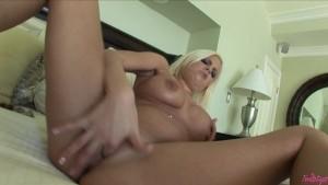 Busty Brittney Opens Her Pussy 4 U