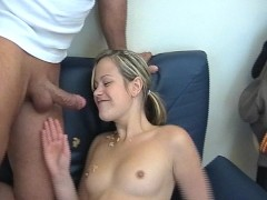 Her Small Mouth Can't Hold His Big Cock pt 3/5