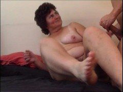 Picture Chubby mom felt up, fingered, and fucked
