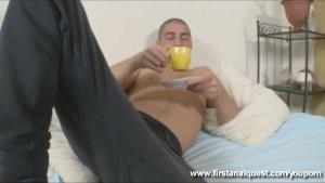 Bashful hottie looses her anal virginity