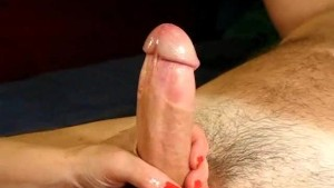 Beautiful Blow and Handjob