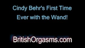 Cindy Behr and the Wand for the first time