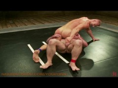 Picture Muscle studs wrestle for fuck
