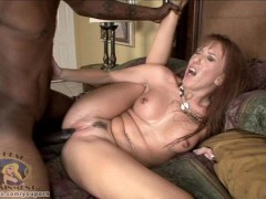 Joselyn Pink goes nuts for some chocolate cock!