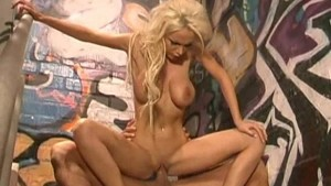 Gorgeous Blonde Fucking and Swallowing