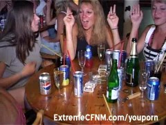 Hardcore party girls suck dick