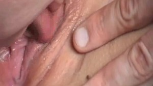 short pussy close-up