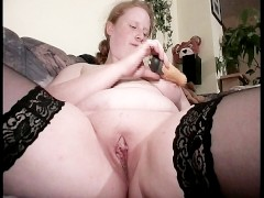 - Chunky blonde suck her...