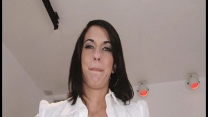 Amatuer Babe1st On Camera BJ And Handjob