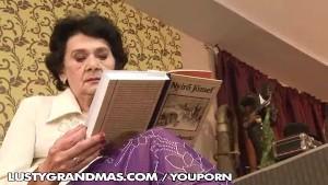 A hot granny posing hot