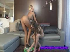 Las Vegas stripper gets a chance @ Porn stardom