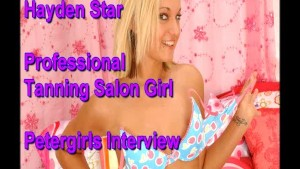 Hayden Star Petergirls audition