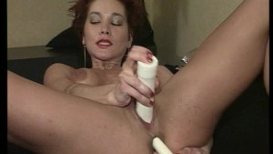 Sexy redhead can't get enough cocks