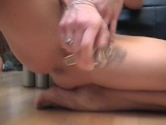 Picture Lovely lady plays with herself and takes a l...