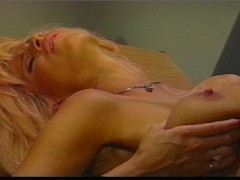 Picture Beautiful Big Busted Blonde loves to rub in...