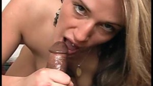Sexy Amateur Sucks Black Cock