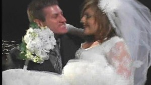Bride and Groom fuck the night away