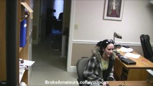 Amateur girl blowjob interview