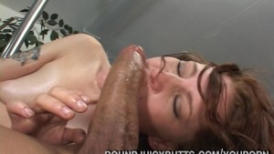 Big Butt Brunette Dick Fucked