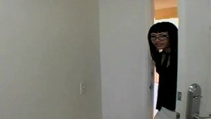 Asian hooker Nyomi Marcela takes a dick in POV