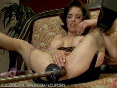 - Mature beauty explores...