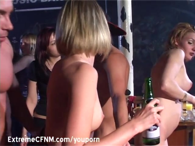 Gangbang MILFs fucking Male Strippers