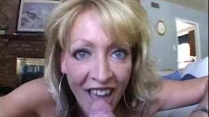 White Ghetto - Busty Mature love his cock