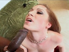 Horney girl getting ready for big black cock  PT.3/3