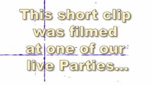 Secret sex party