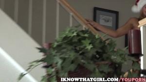 Cindy Hope Turns Into A Horny Santa