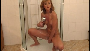 Showering for Mr.Jacoff Dildo [CLIP]