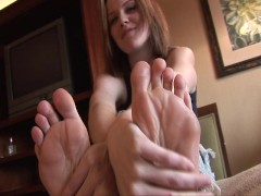 Kelli loves those feet  Pt. 1/2