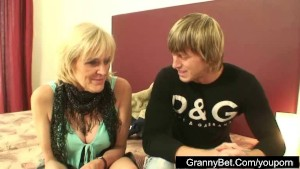 Young guys fucking old prostitute