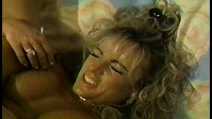 Sexy blonde with big tits enjoys sex in shower