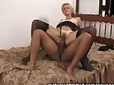 Horny mature on top....