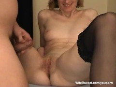 Shy wife first time on video