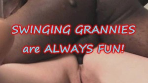 5 Grannys throw a SWINGERS PARTY